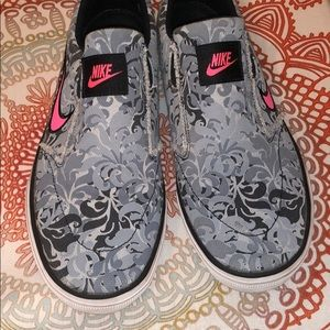 Nike Slip-On Sneakers, Size 7.5, Great Condition